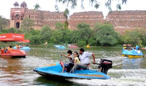 Наводнение в Дели
