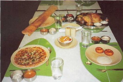 Индийское застолье