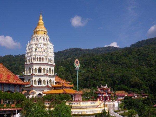 Малайзия, остров Пенанг. Буддийский храм