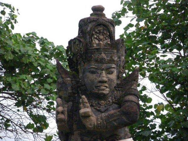 Балийское божество, храм Танах Лот