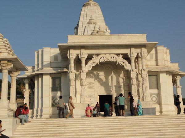 Храм Лакшми в Джайпуре