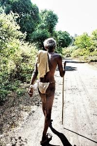 человек из племени в южном Гоа