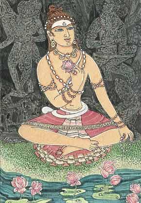 Иллюстрация к шлоке 1 из Танца с Шивой
