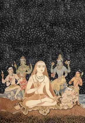 Иллюстрация к шлоке 6 Танца с Шивой