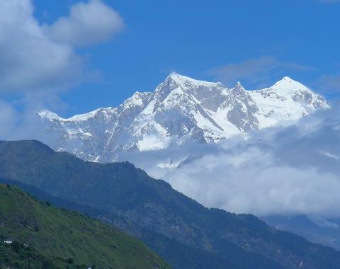 Гималаи над Гопешваром
