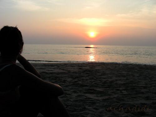 Девушка и Море.