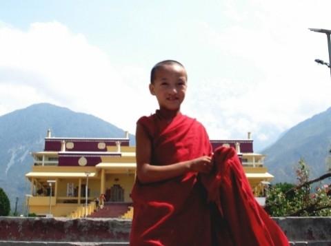 Юный монах