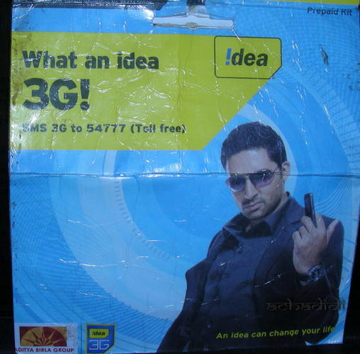 idea - блокировки индийской сим карты