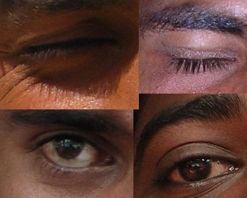 Индийские мужчины. Глаза - зеркало....
