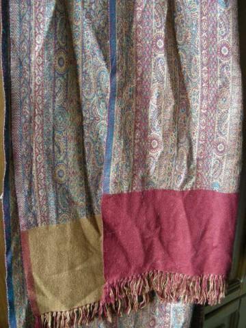 Индийская шаль, синтетика