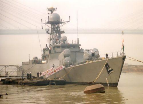 """Малый противолодочный корабль """"Кукри"""" ВМФ Индии"""