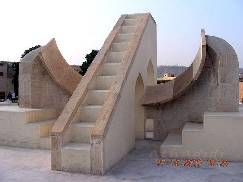 Каменный астрономический инструмент, Индия, Джайпур
