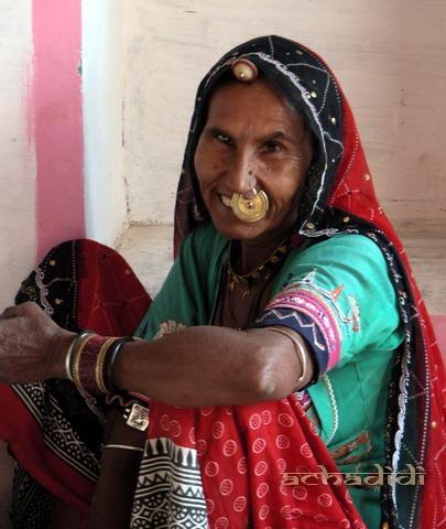 Женщина племени бишнои