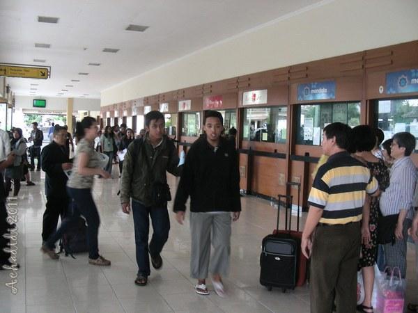 Кассы продажи авиабилетов в аэропорту Джогджакарты