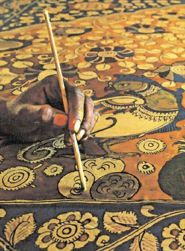 Каламкари - роспись южной Индии