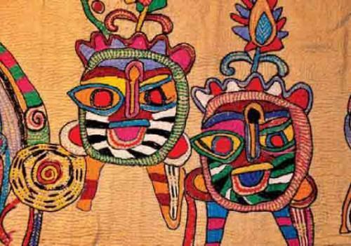 Узоры вышивки Кантха