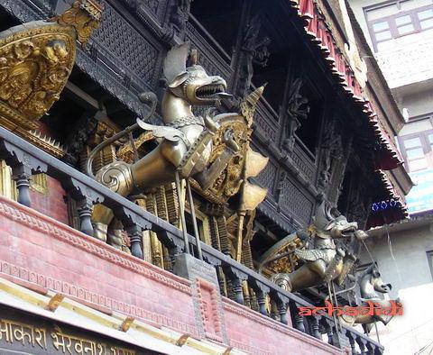 Катманду, храм на Индра чоук