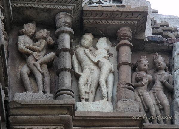 Эротические рельефы, джайнская группа Каджурахо