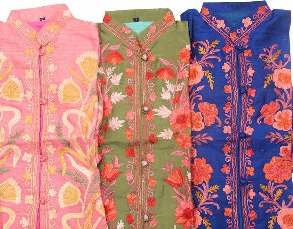 узоры кашмирской вышивки из exoticindiaart