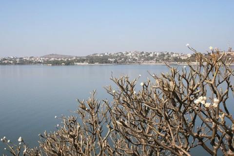Бхопал. Вид на город с Верхнего озера