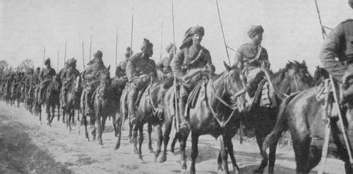 Бенгальские уланы во Франции, 1я Мировая война