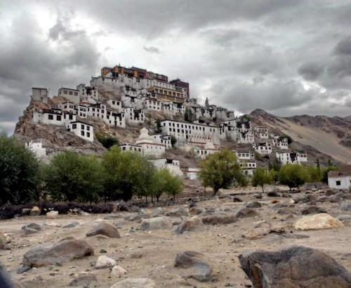 Буддийский монастырский комплекс в Стакна. Фото thehindu.com