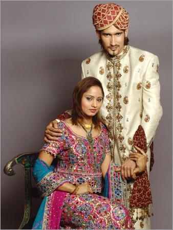 Индийская мода. Леханга чоли и джодхпури шервани  kinny.tradeindia.com