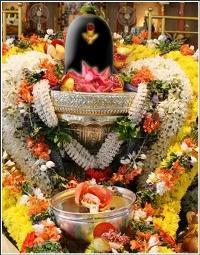 Шива Лингам на праздновании Махашиваратри