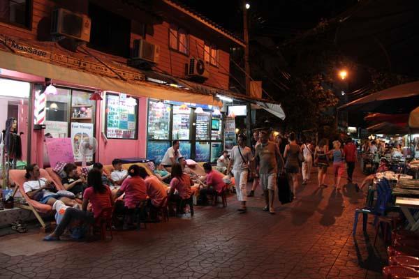 Тайский массаж на Рамбутри рд. Бангкок