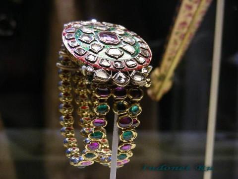 Браслет кундан, Индия, средние века
