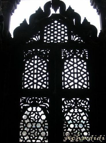 Орчха. Джали дворца Джехангира