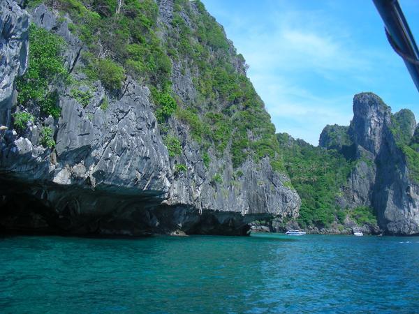 Обратная сторона острова Пхи Пхи