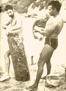 М.Уилсон (слева) и Сваямбу Лингам, 1962 г.
