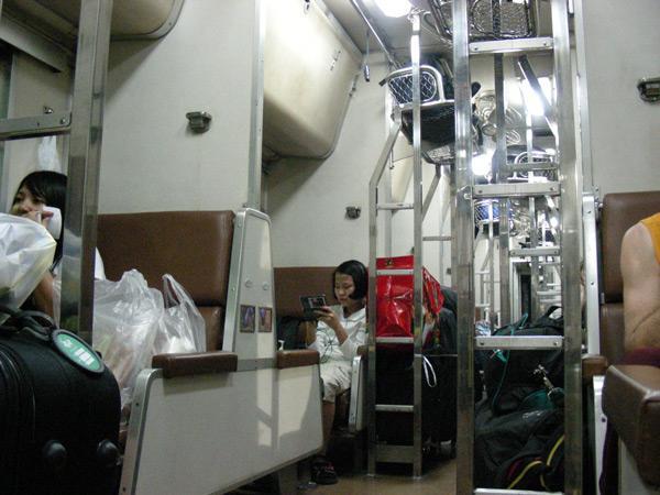 вагон 2ас в поезде таиланда