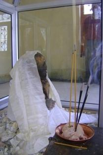 мумия в новом доме