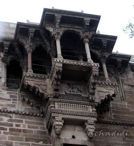 Варанаси, Балкон дома