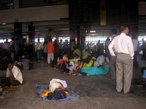 Вокзал в Дели