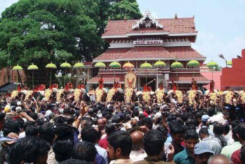 Фестиваль Тричур Пурам