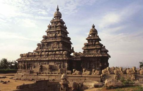 Береговой храм, Мамаллапурам, 8-й век