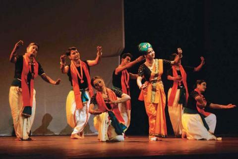Театрализованное действо в стиле Манипури