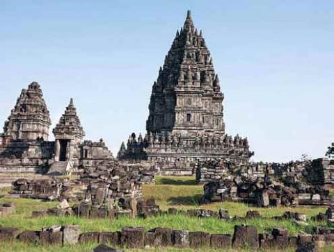 Индуистский храм Прамбанан, Ява, Индонезия