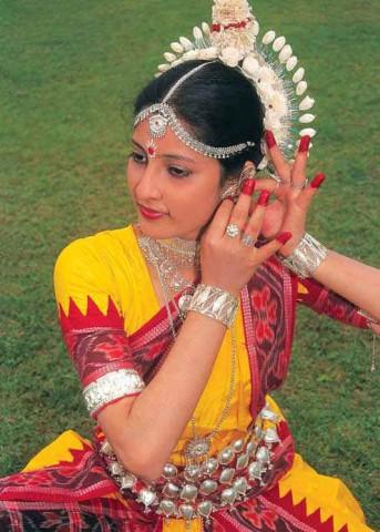 Танцовщица одисси