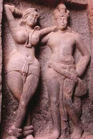 Митхуны или влюбленные, Карли, 1-2 век н.э.