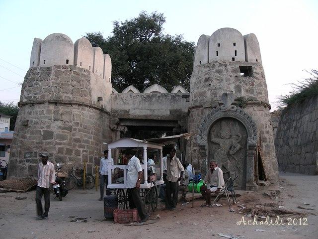 Пенуконда, ворота форта