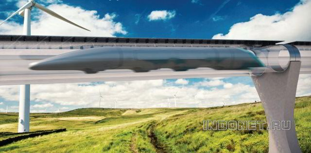 HYPERLOOP идет в Индию