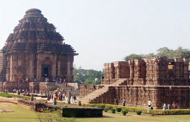 Храм Конарк, Орисса, Индия