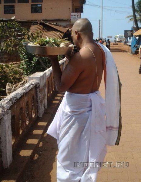 Индия. После ритуала