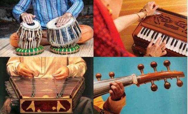Индийские инструменты исполнения раги