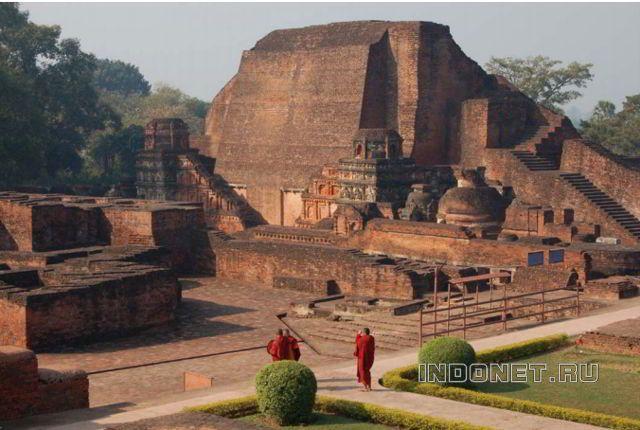 Наланда - старейший университет древней Индии