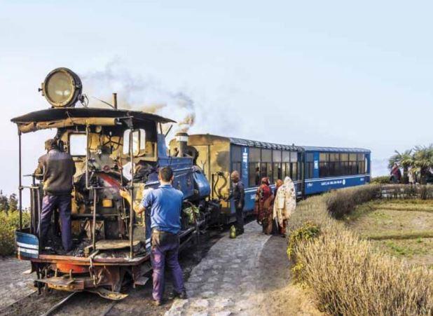 На поезде по холмам Индии